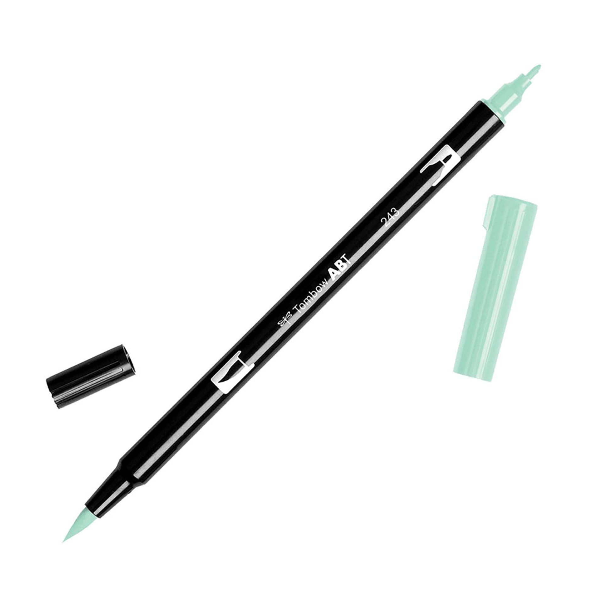 Tombow Dual-Tip Brush Marker Pen – Mint