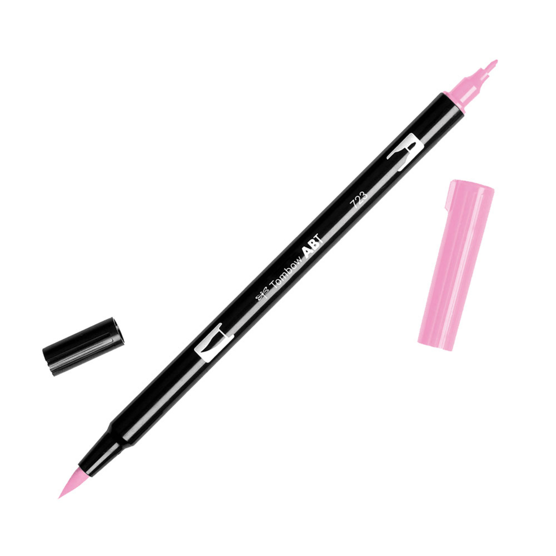 Tombow Dual-Tip Brush Marker Pen – Pink