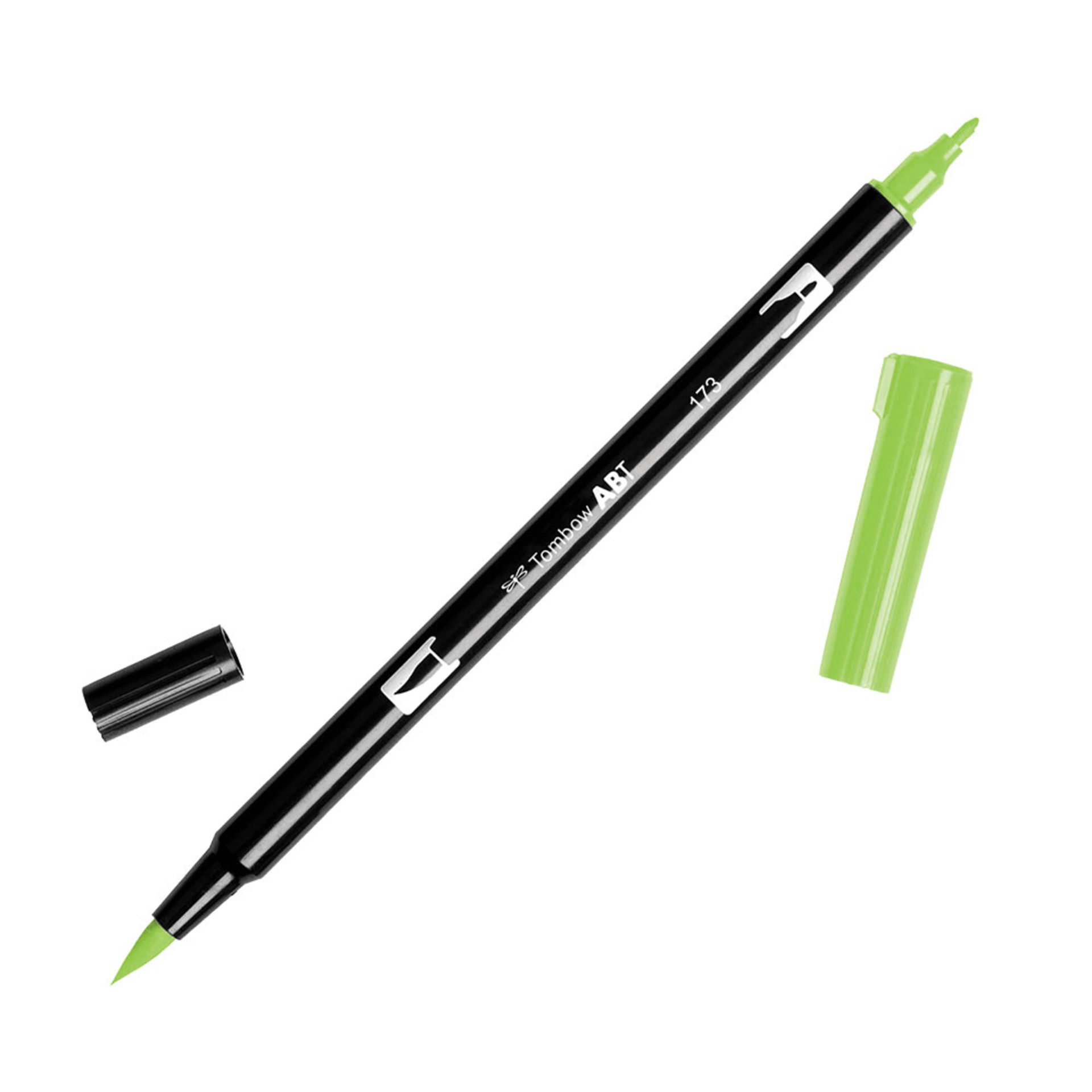 Tombow Dual-Tip Brush Marker Pen – Willow Green