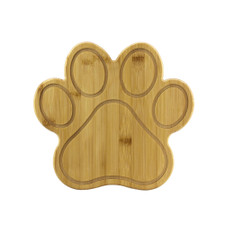 Totally Bamboo Paw Cutting & Serving Board