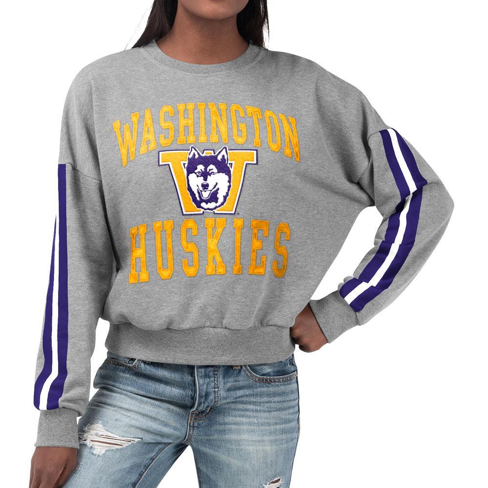 Touch Women's Vault Dog Washington Huskies Pullover