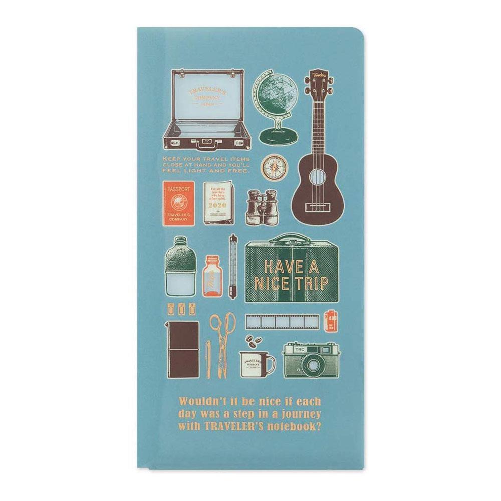 Traveler's Company 2020 Regular Clear Folder Front