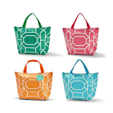 Two's Company Assorted Chinoiserie Insulated Tote