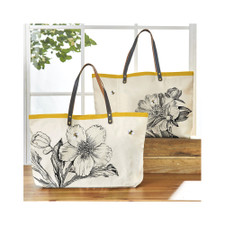 Two's Company Honey Bee Tote Bag