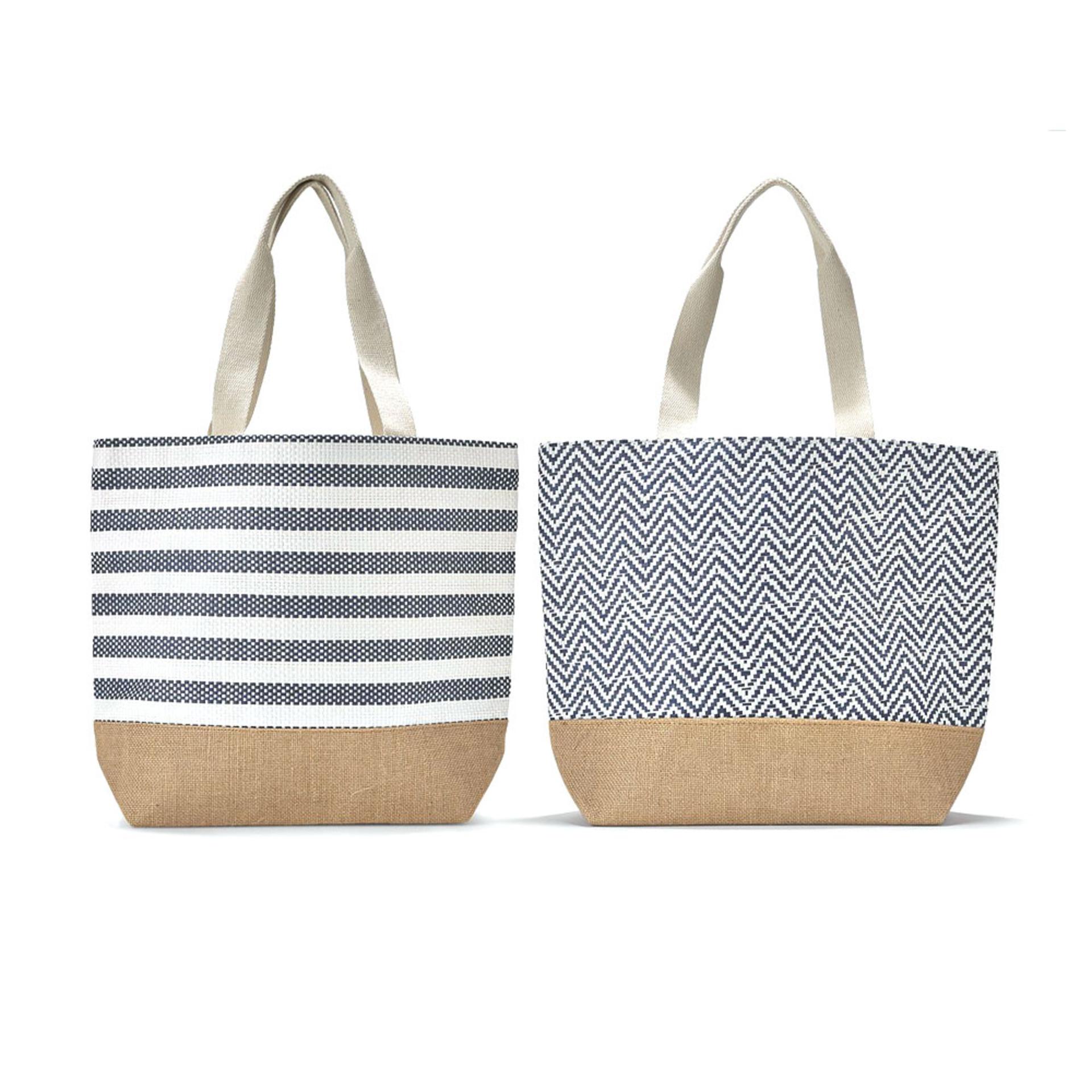 Two's Company Mykonos Tote Bag