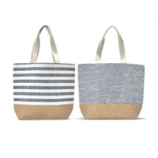 Two's Company Mykonos Tote Bag