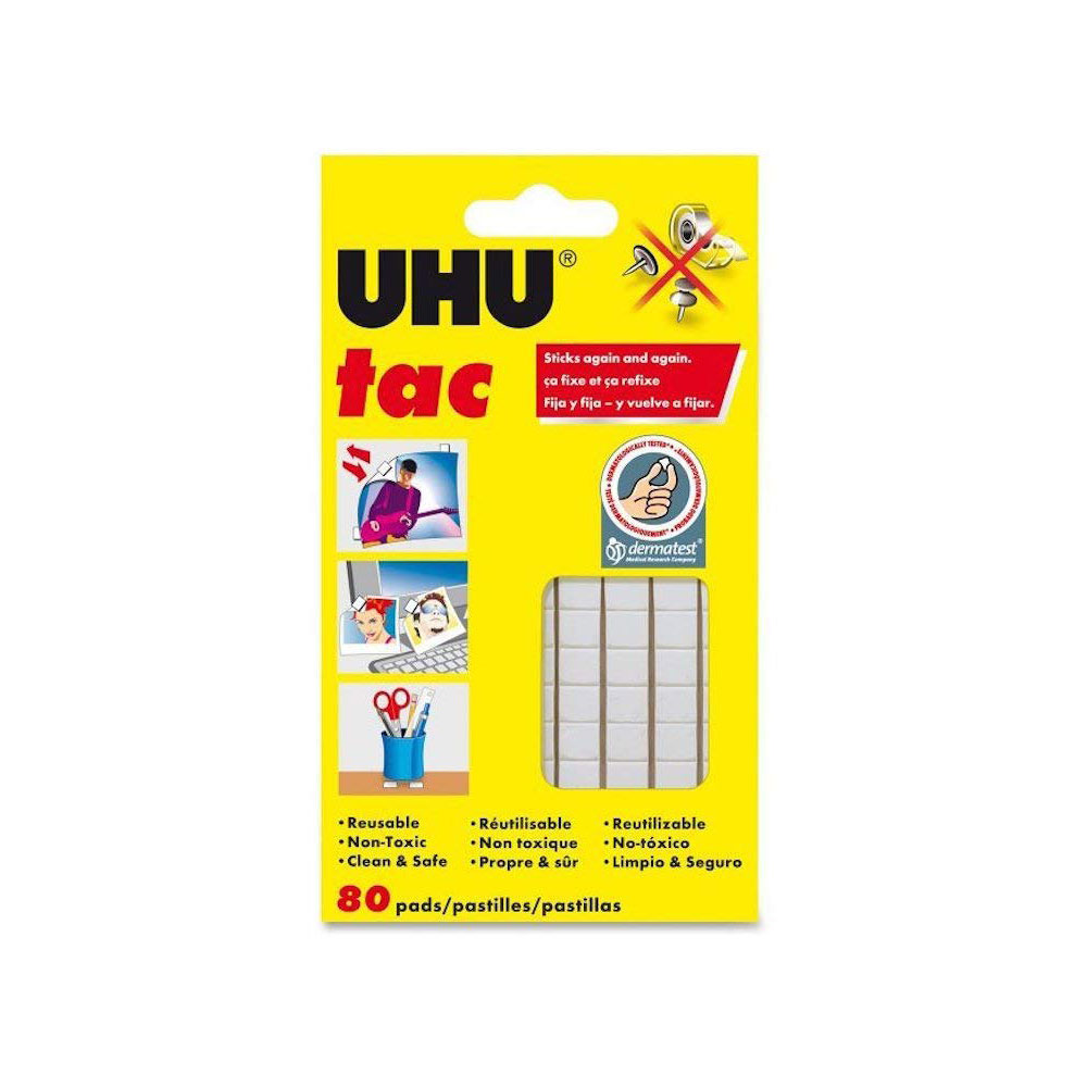 UHU White 3oz Reuseable Non-toxic Tac Putty