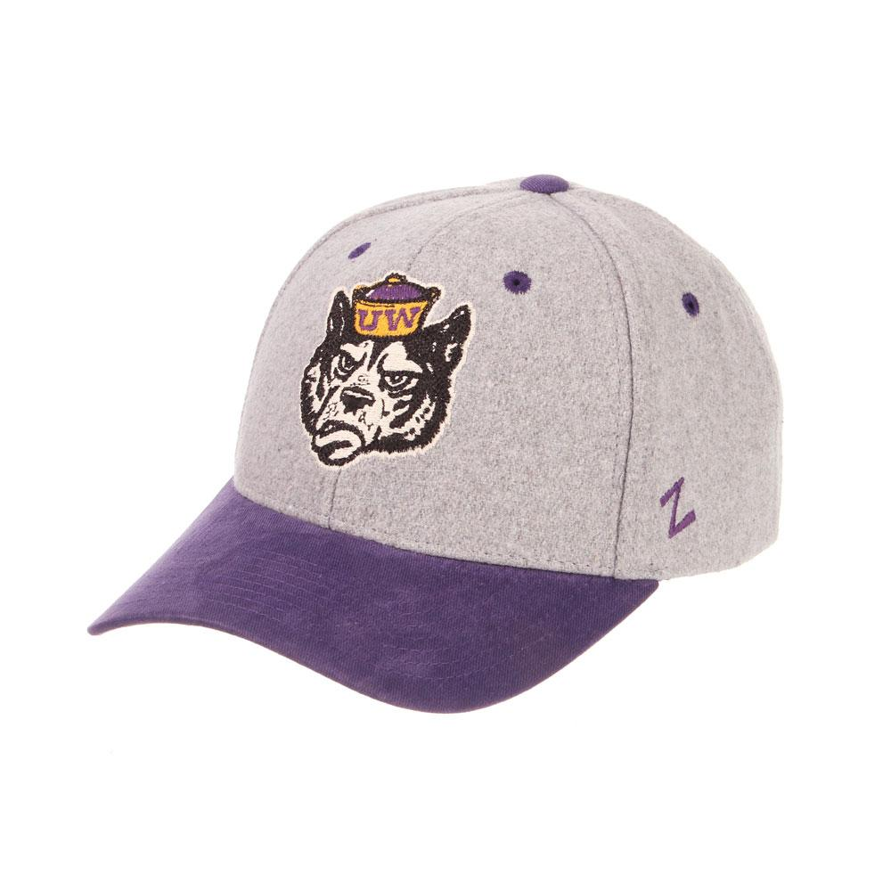40c59143760ae UW Zephyr Men s Salty Dog Foundation Melton Wool Snapback Hat.  34.95. Zephyr  Purple Huskies ...