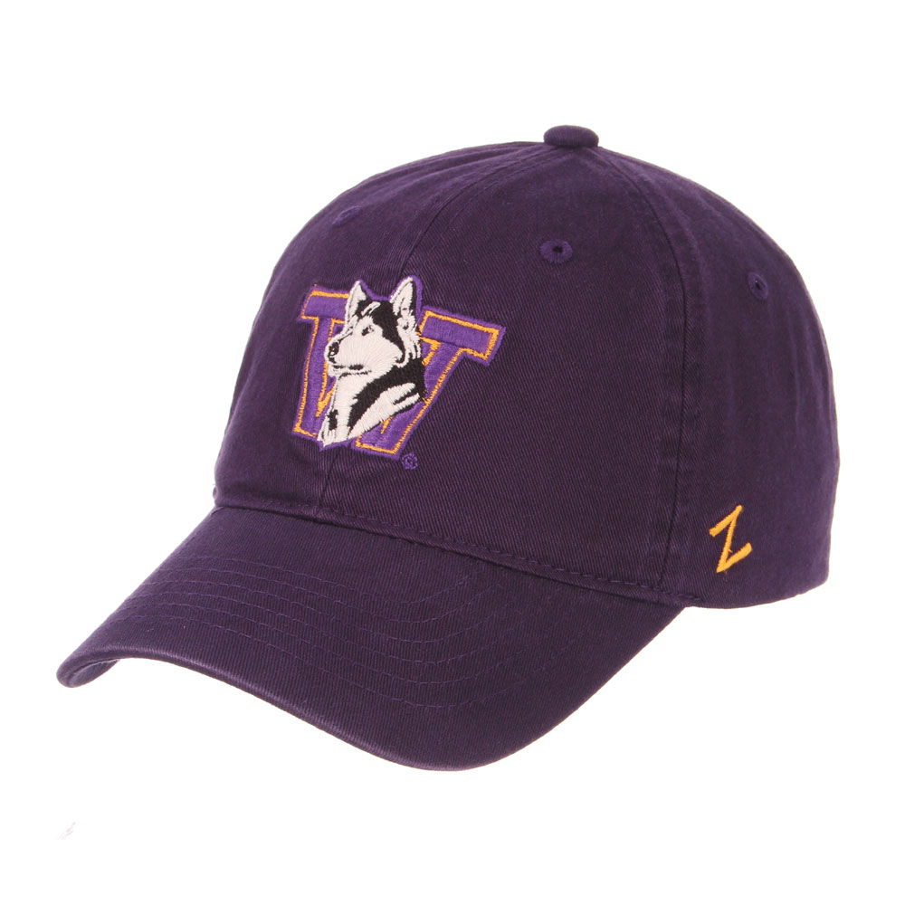 614977e29 UW Zephyr Unisex Retro Dog W Scholarship Buckle Hat