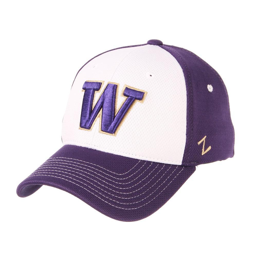 Zephyr Huskies Restitch Stretch Fit Hat Front