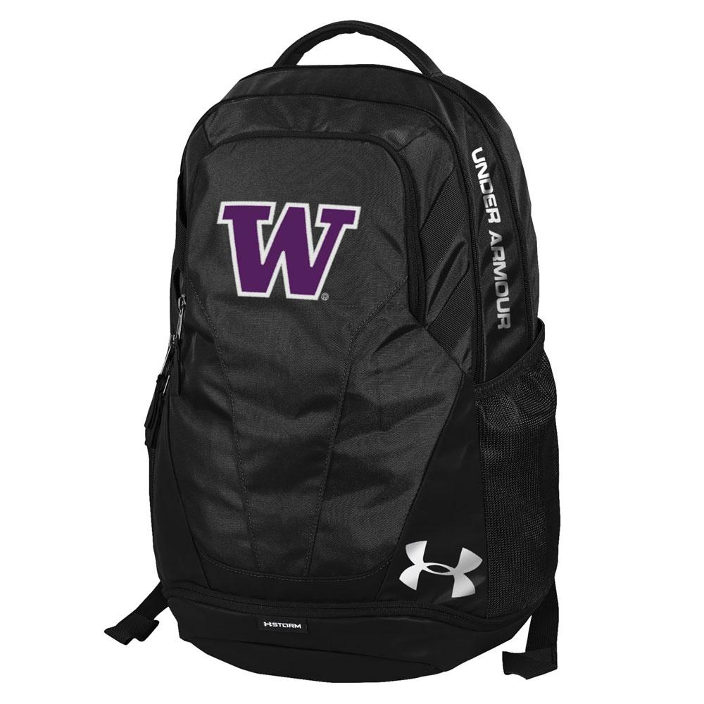 Under Armour Black UW Hustle Backpack