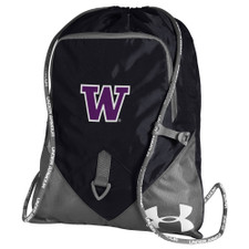 Under Armour Black UW String Gym Bag