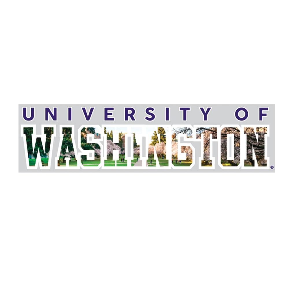 University Of Washington Decal Cherry Blossoms