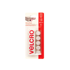 "Velcro White 5/8"" Self-adhesive Dots 15 Pack"