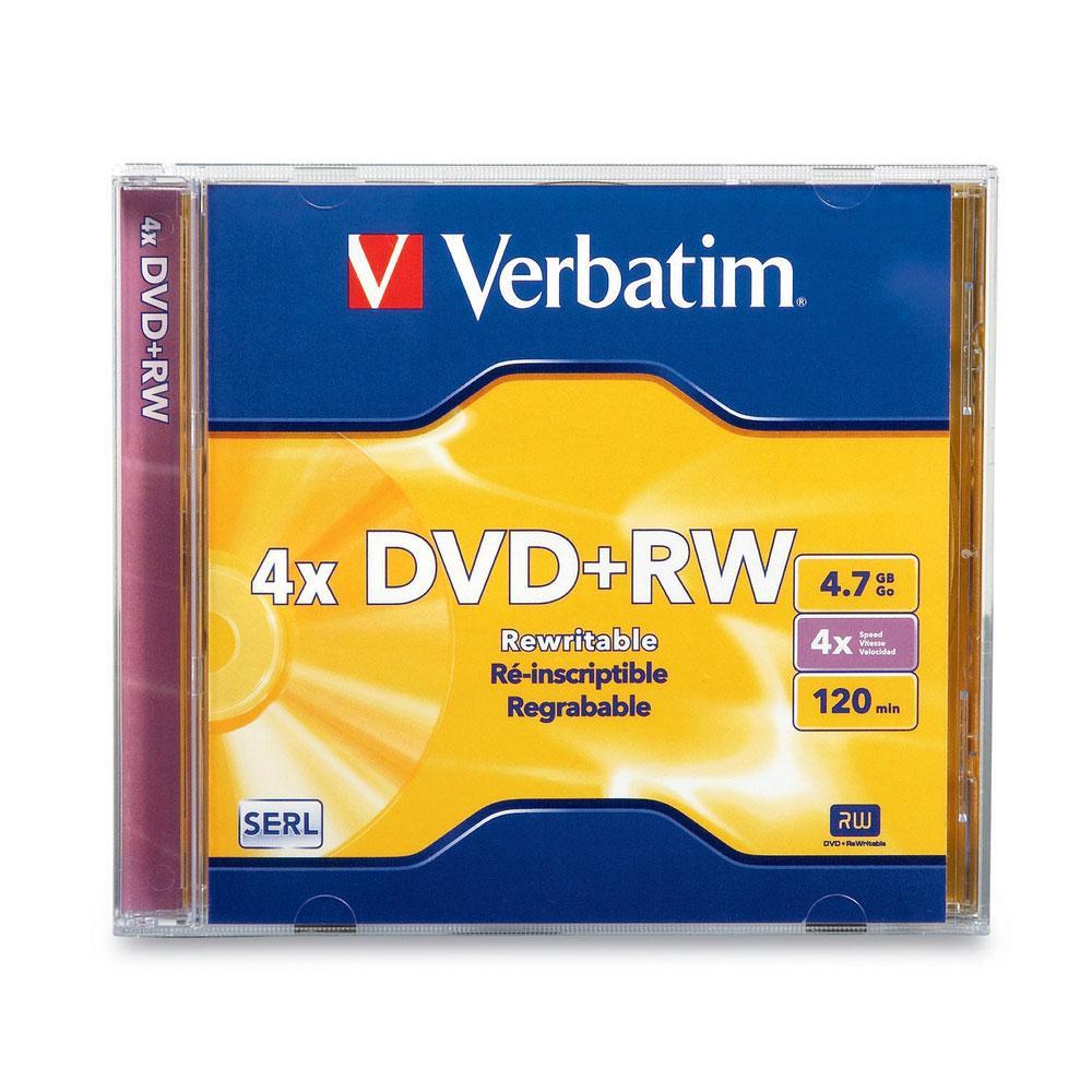 Verbatim DVDRW Single