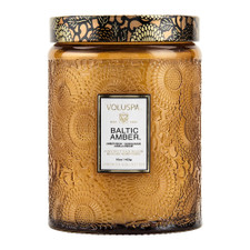Voluspa Baltic Amber Large Glass Candle
