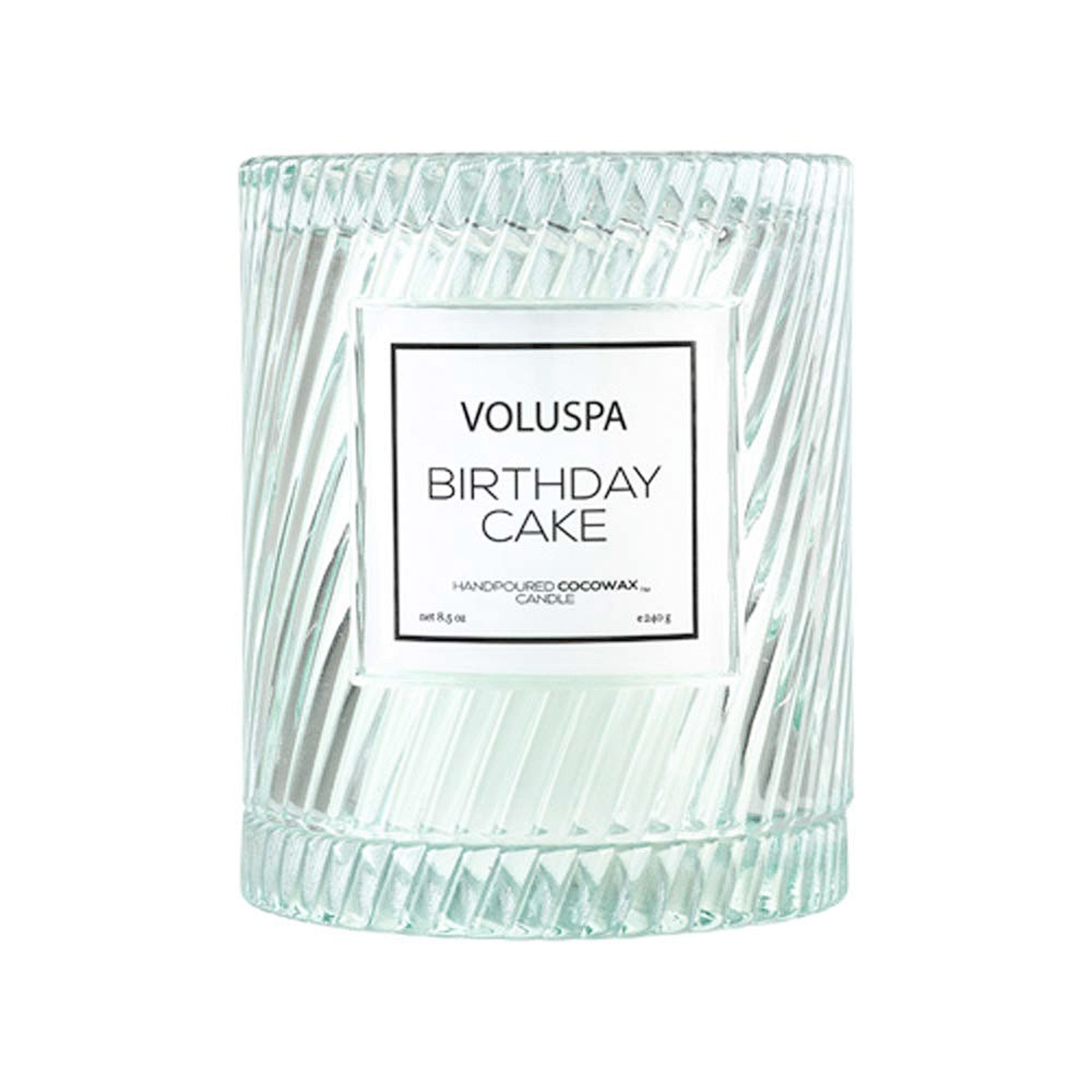 Voluspa Birthday Cake Candle with Cloche Cover