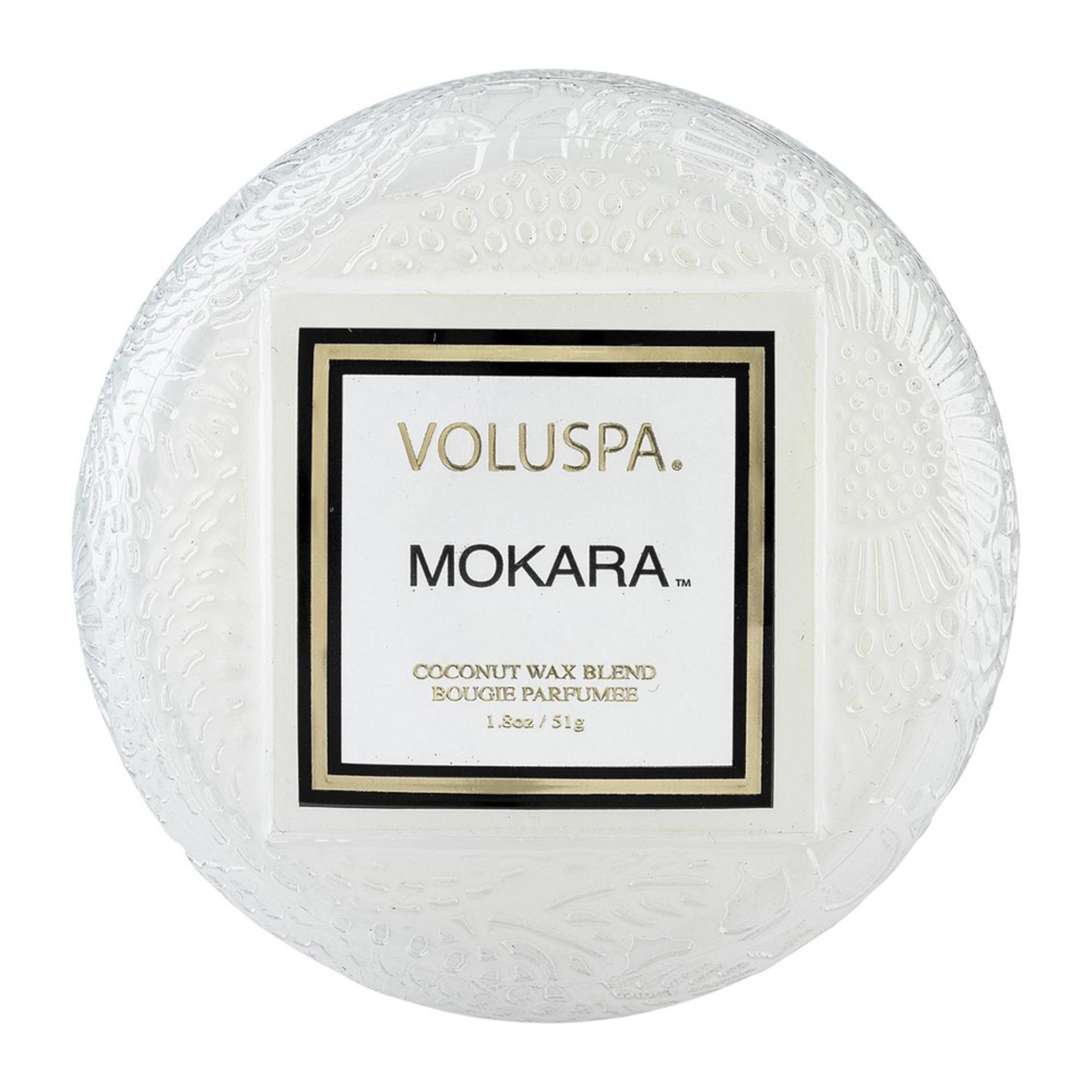 Voluspa Mokara Macaron Candle Top