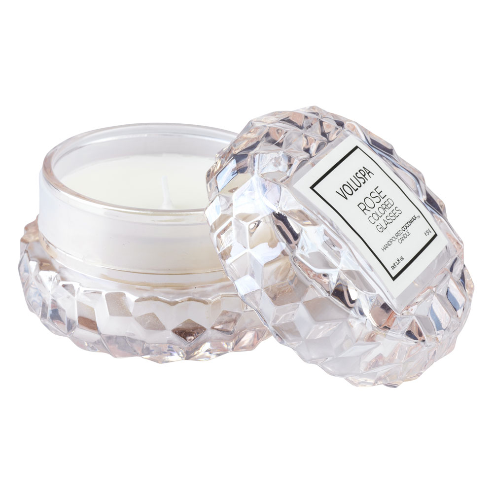 Voluspa Candle Rose Colored