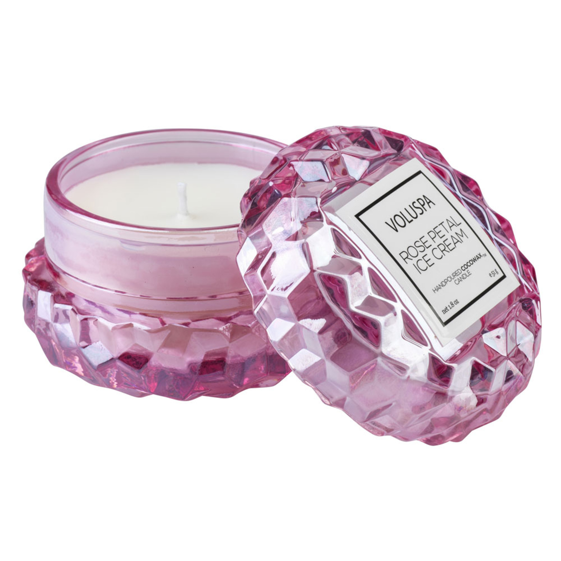 Voluspa Candle Rose Petal Ice Cream