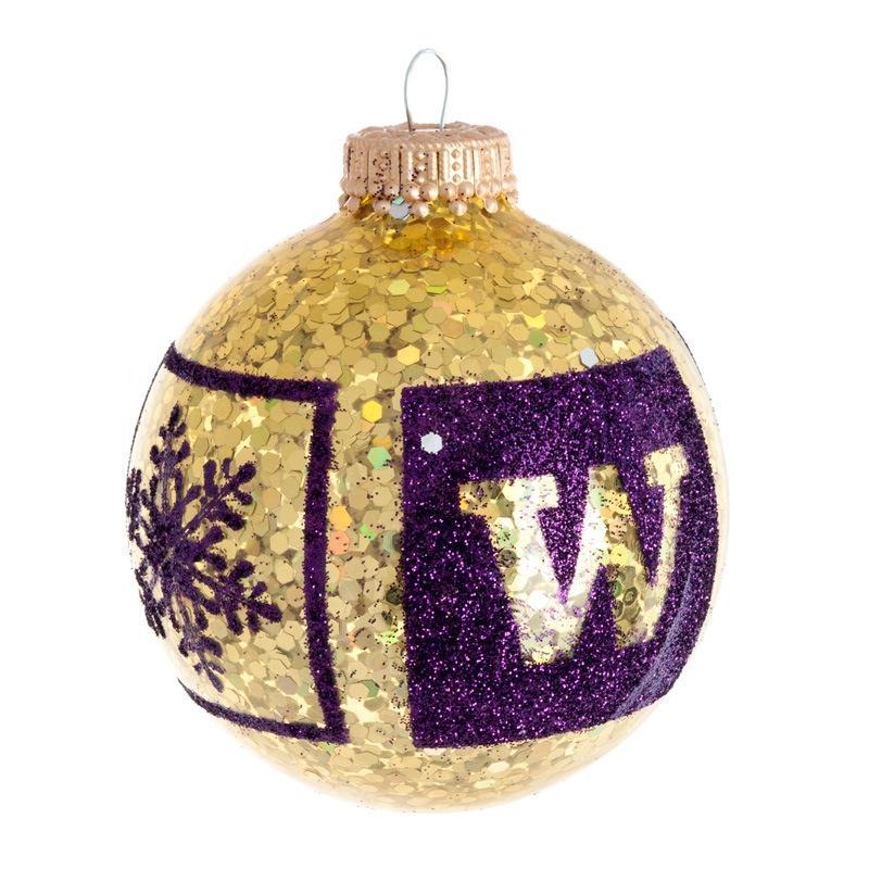 UW Glitter Ornament