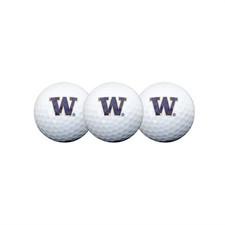 Team Effort UW Golf Ball 3 Pack