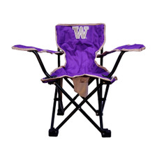 Purple W Kids Chair