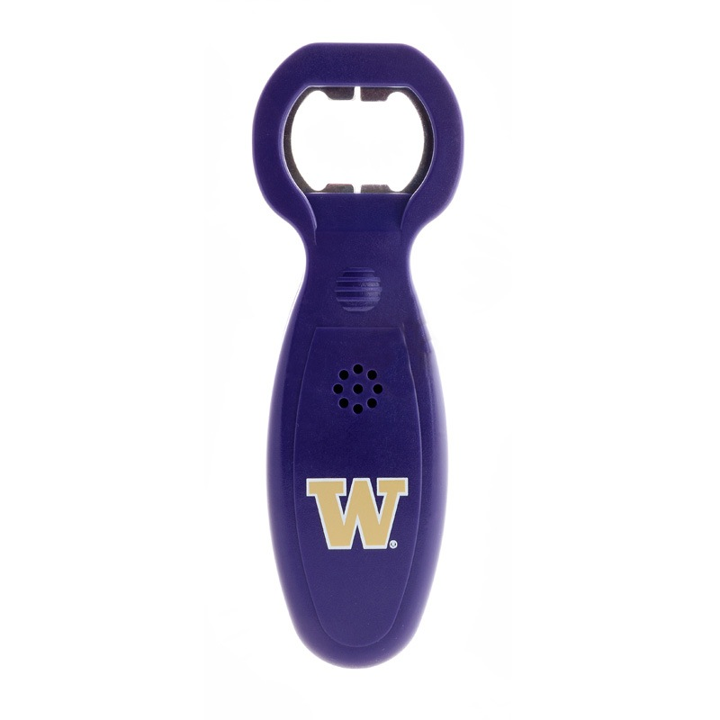 Washington Huskies Musical Bottle Opener