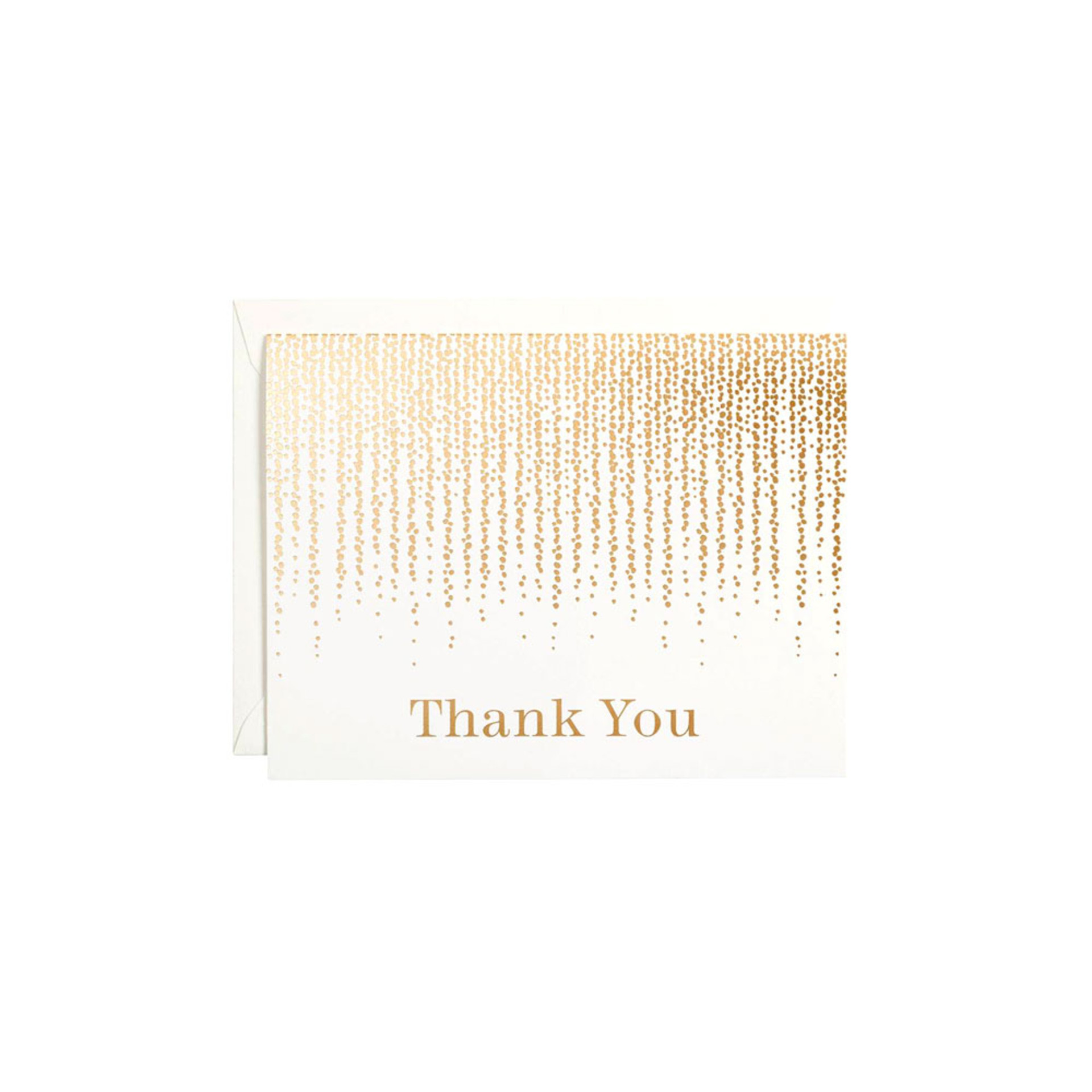 Waste Not Paper Chandelier Thank You Boxed Cards