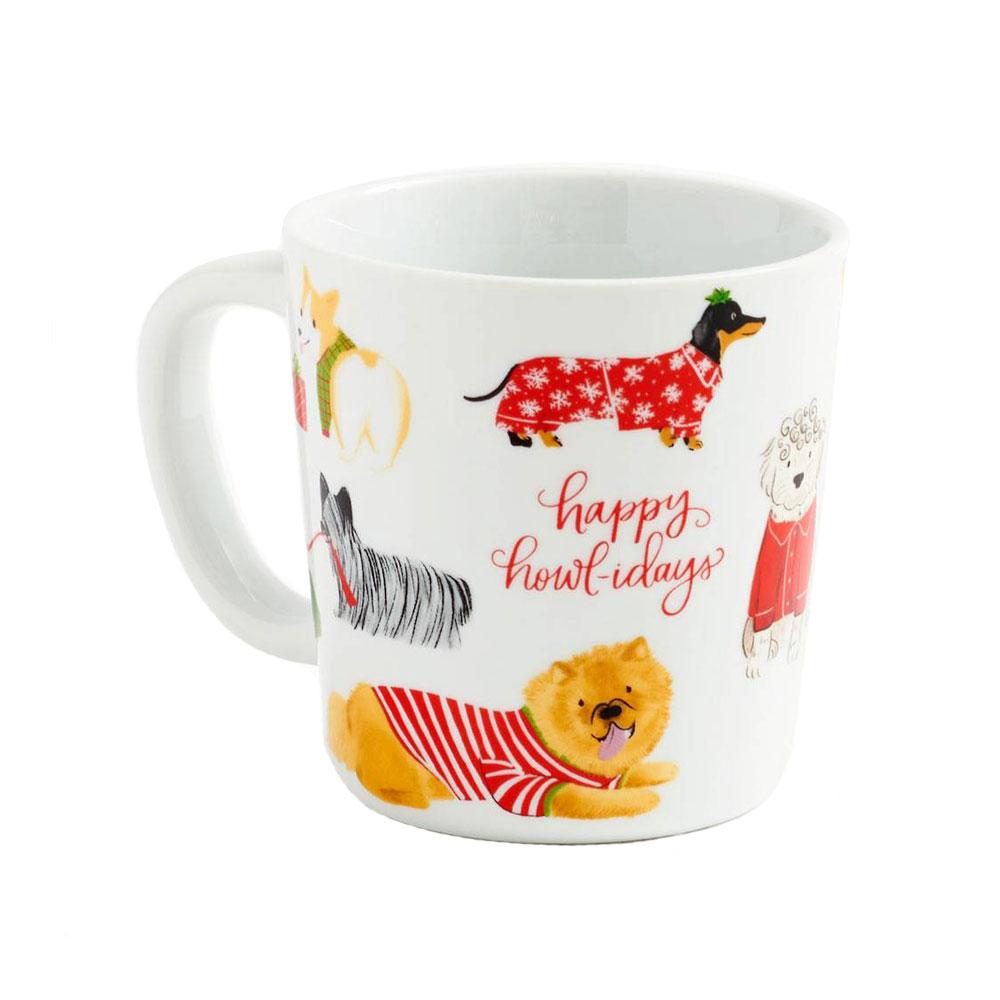 Waste Not Paper Happy Howlidays Mug