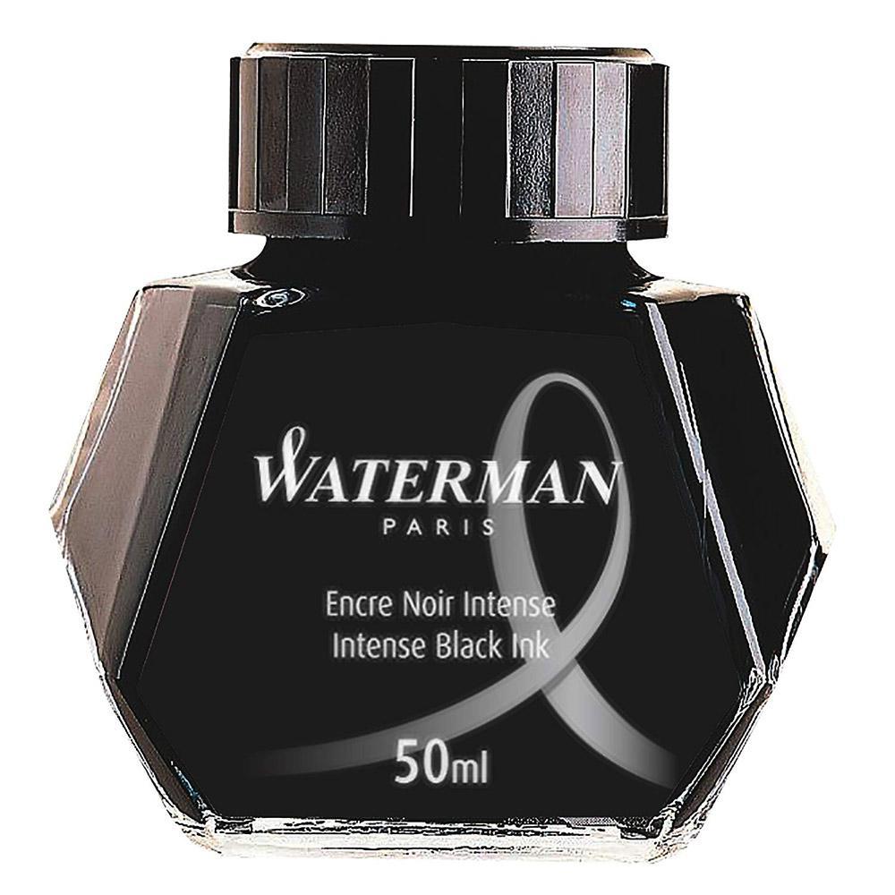 Waterman Fountain Pen Ink Black 50ml