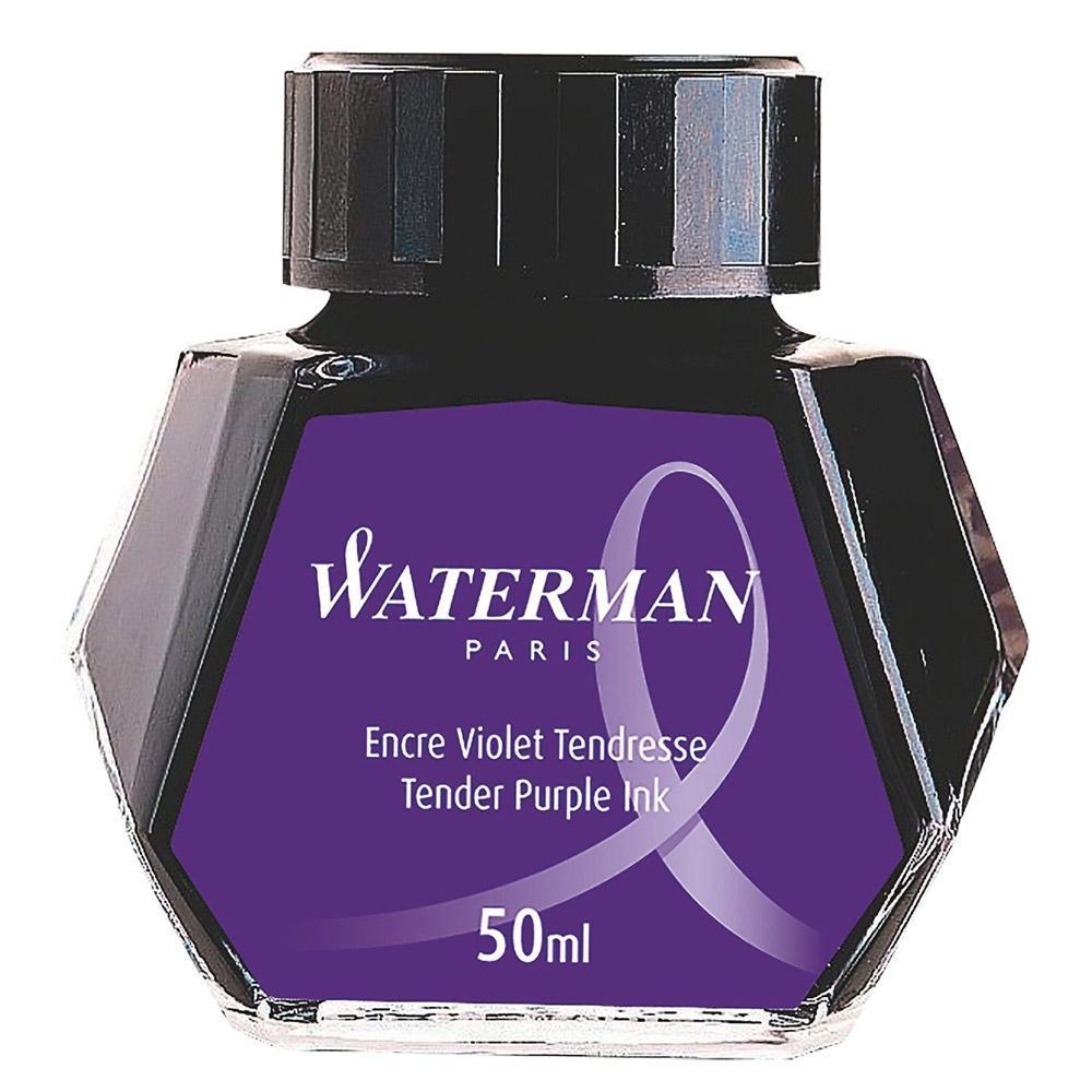 Waterman Fountain Pen Ink Purple 50ml