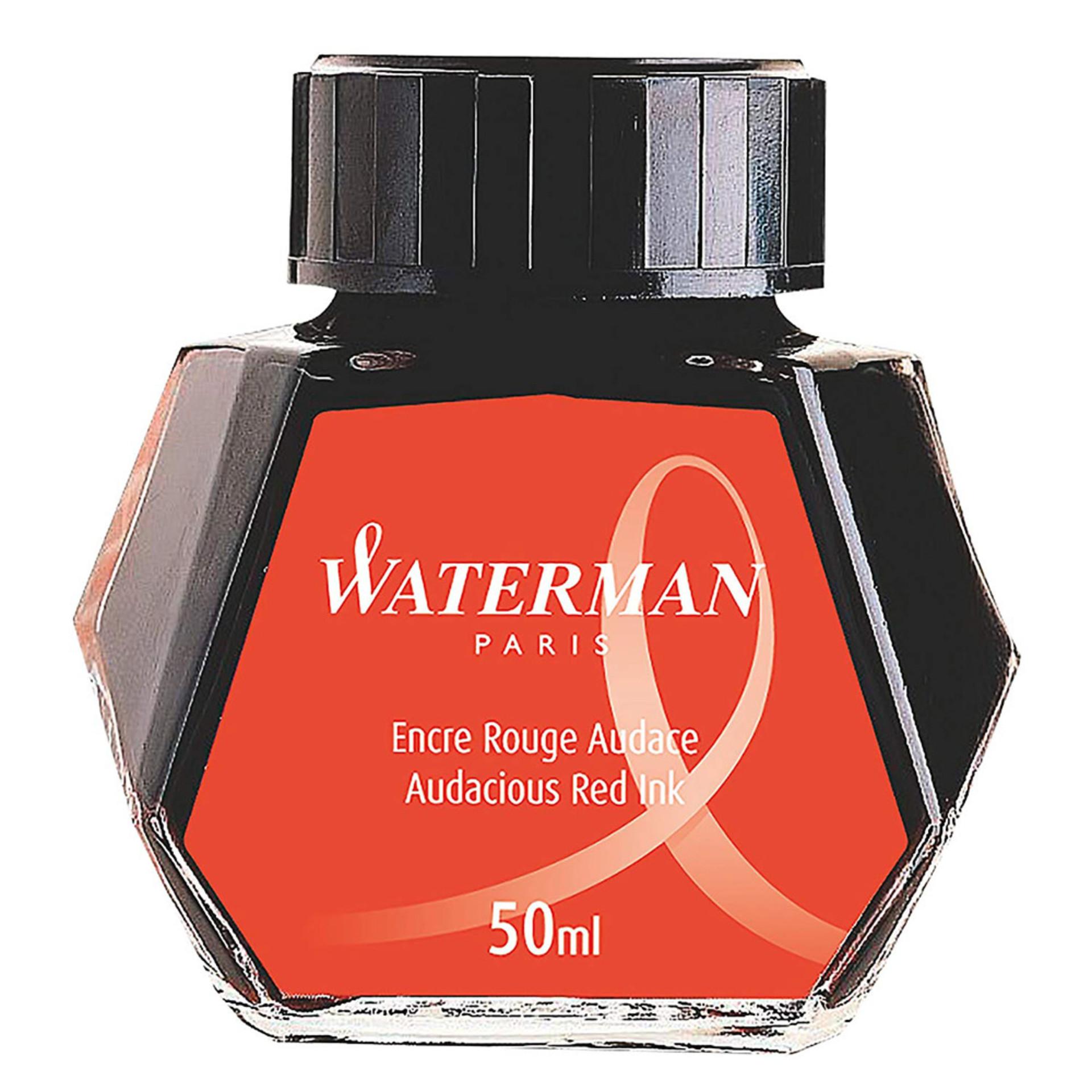Waterman Fountain Pen Ink Red 50ml