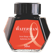 Waterman Fountain Pen Ink Red 50ml