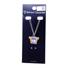 Wincraft Purple & Gold W Vault Dog Necklace