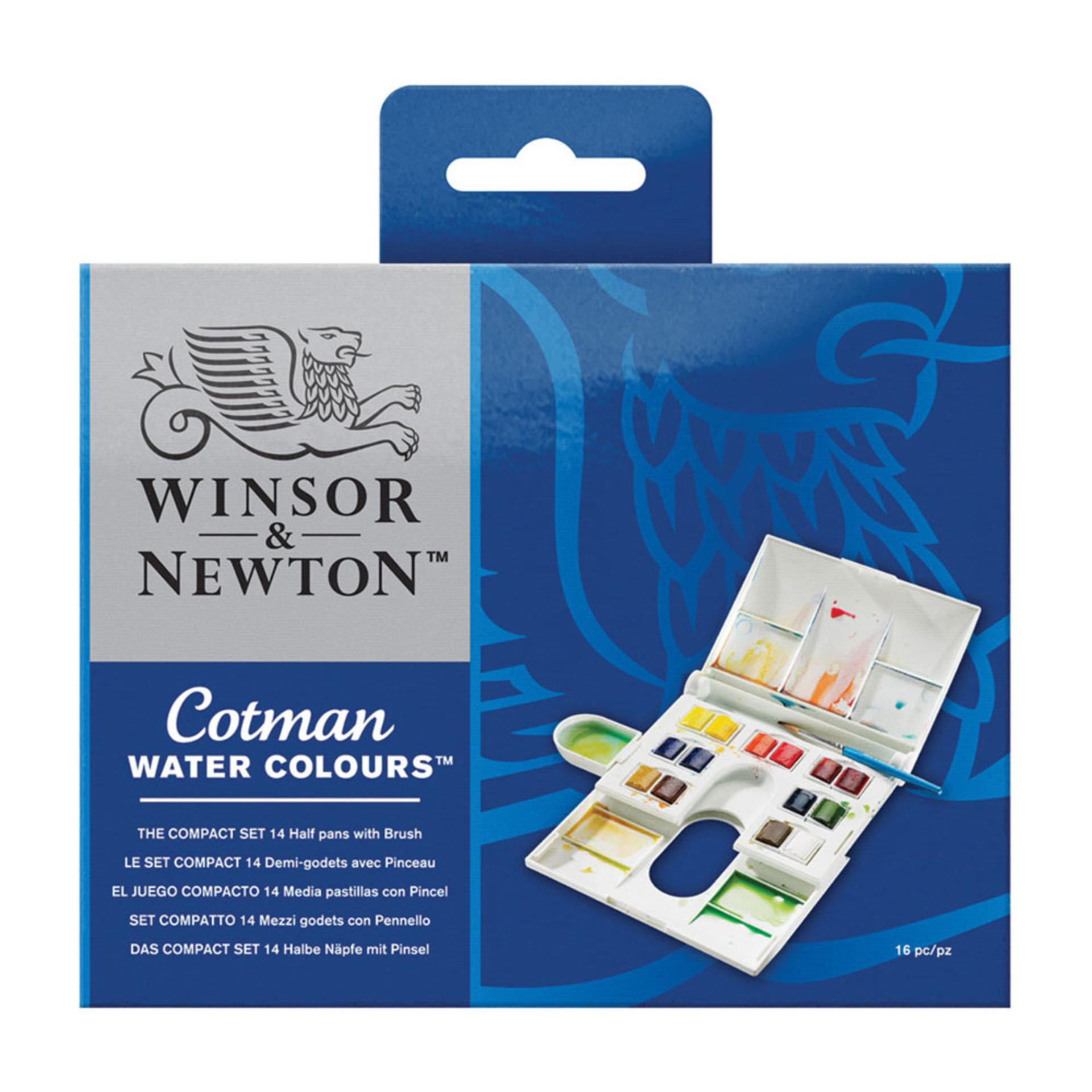 Winsor & Newton Compact Watercolor Set