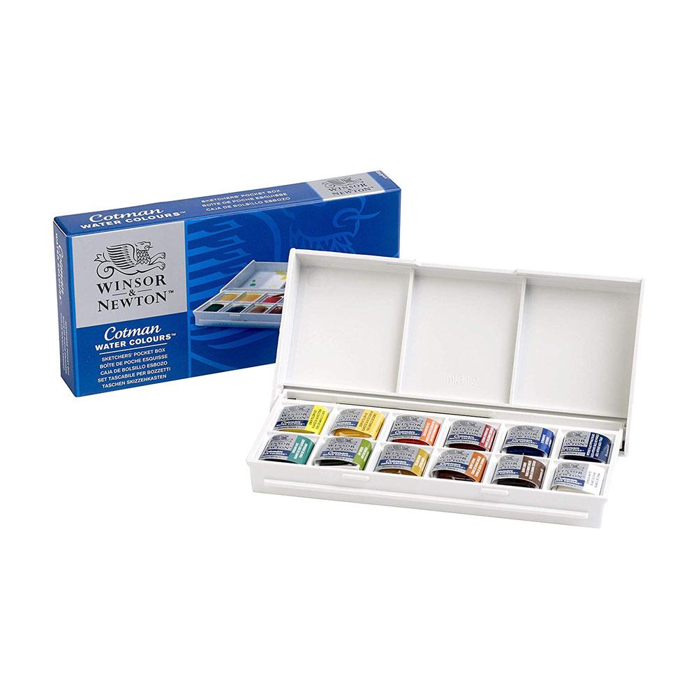 Winsor & Newton Cotman Watercolor Sketchers Pocket Box