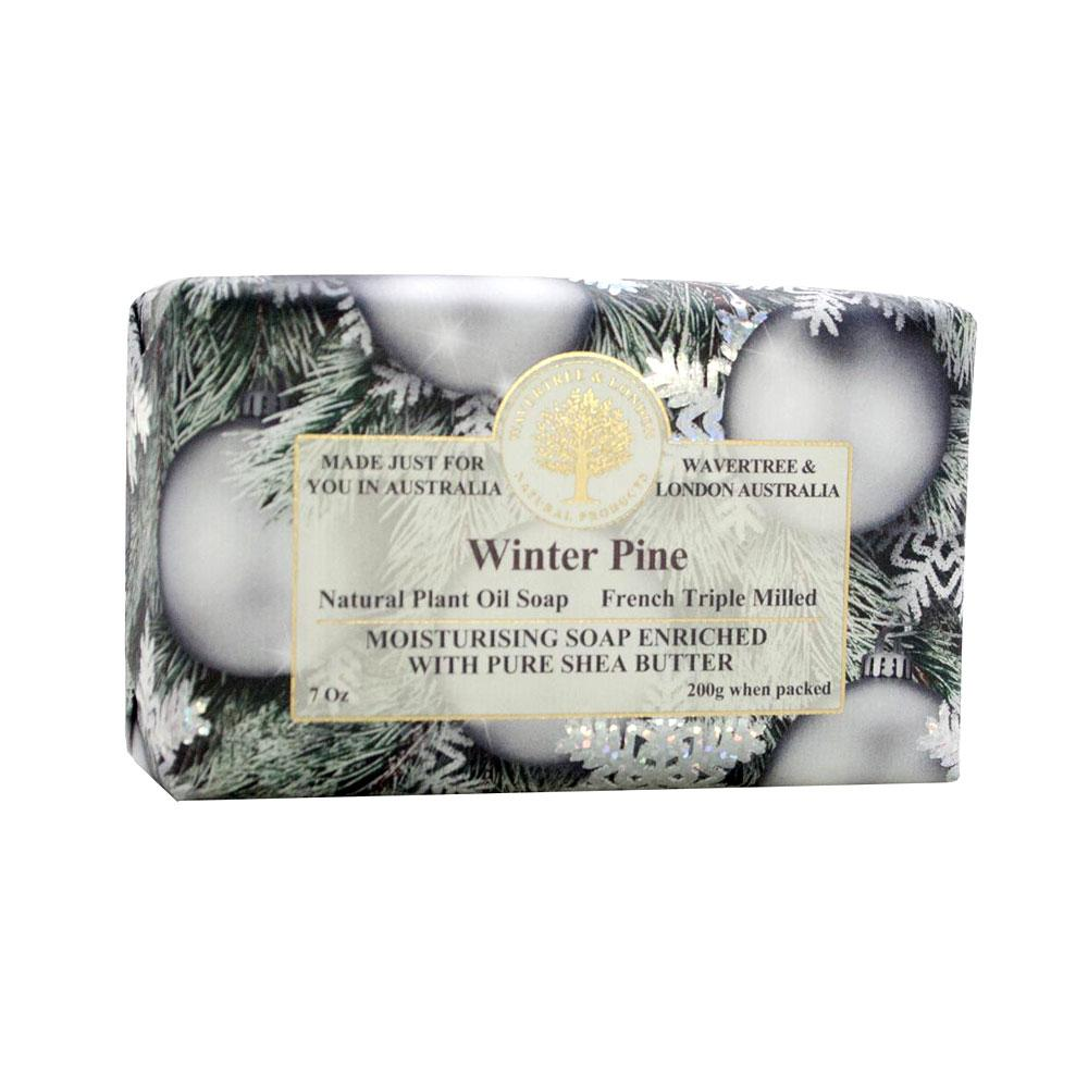 Wavetree & London Australia Winter Pine Bar Soap