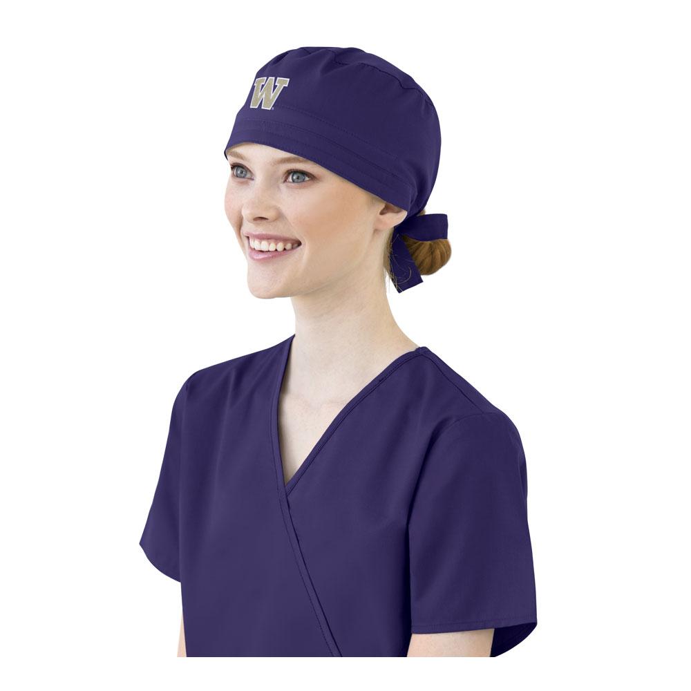 Wonderwink UW Purple Scrub Cap Woman