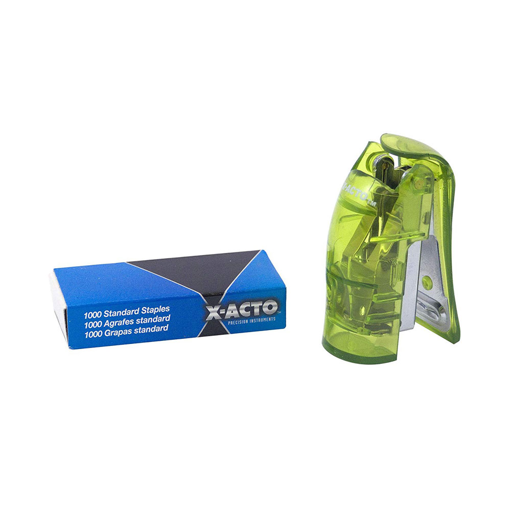 Xacto Assorted Mini Stand Up Stapler