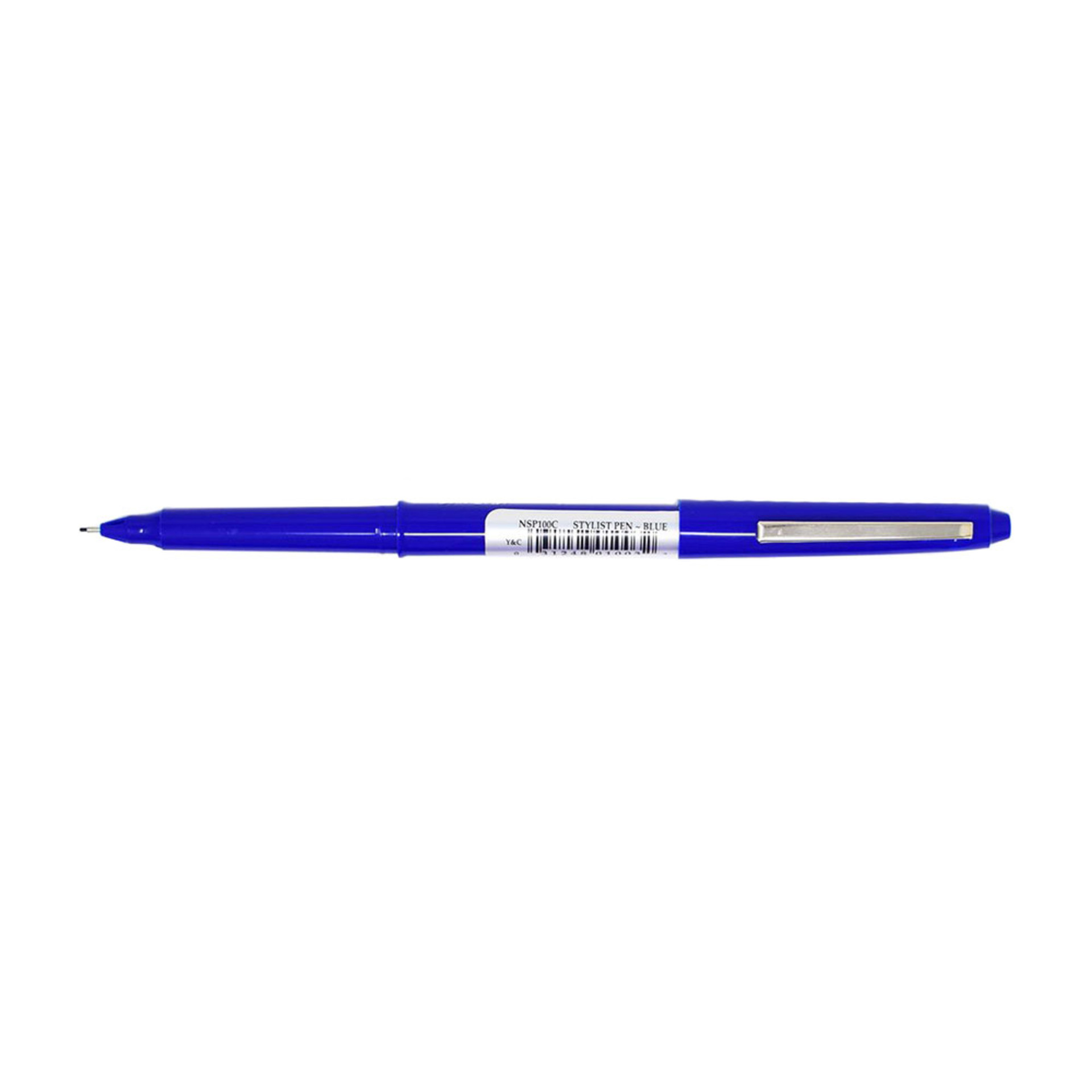 Yasutomo Stylist Fine Point Fiber Tip Pen – Blue