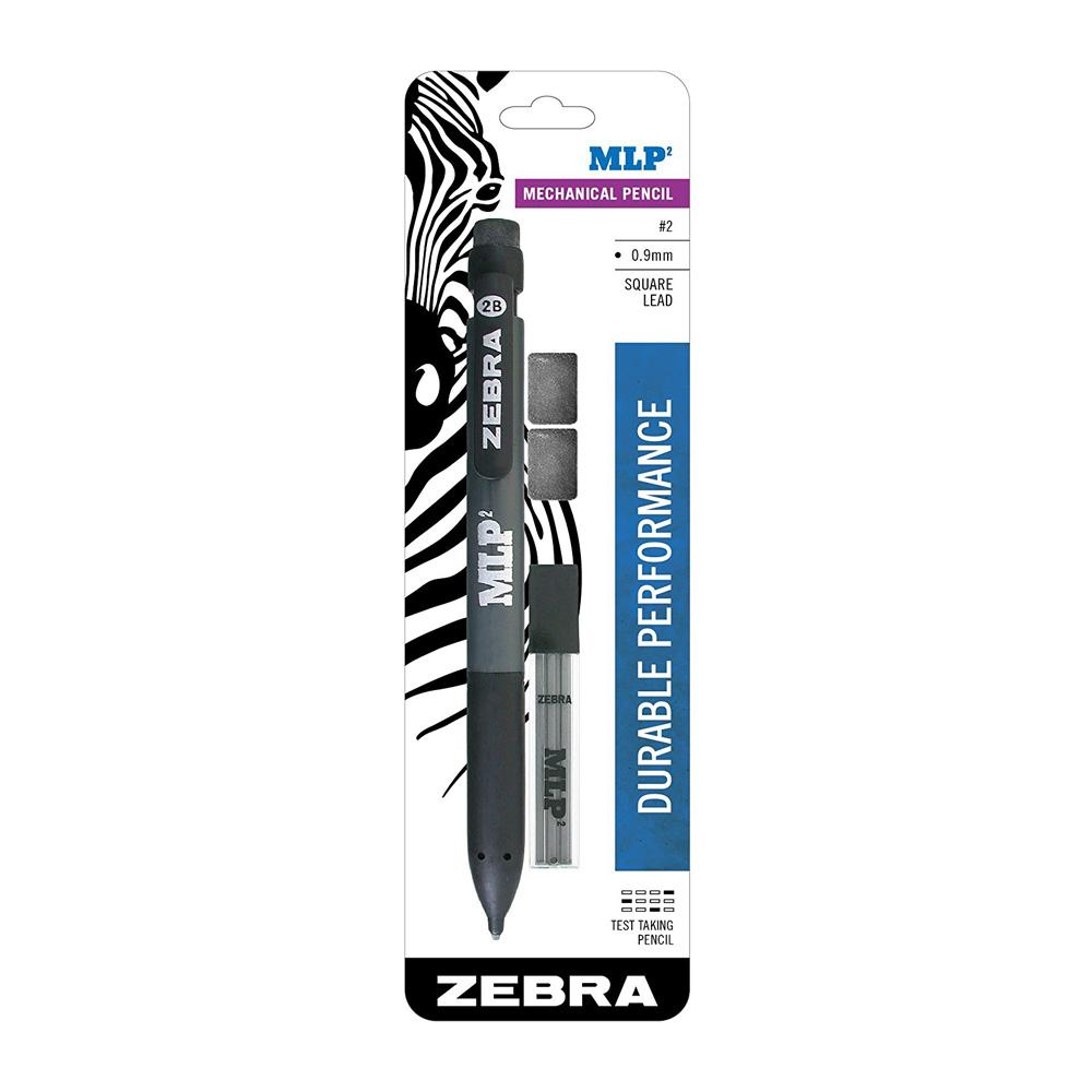 Zebra MLP Square Lead Mechanical Pencil Set