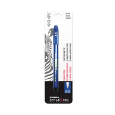 Zebra Zensations Brush Pen Black Ultra-Fine Point