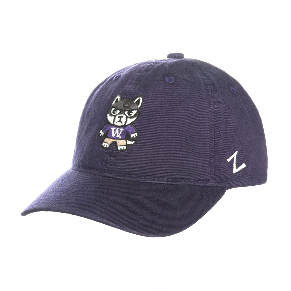 uk availability e2480 ec4b6 Zephyr Kids  Purple Tokyodachi Husky Scholarship Hat