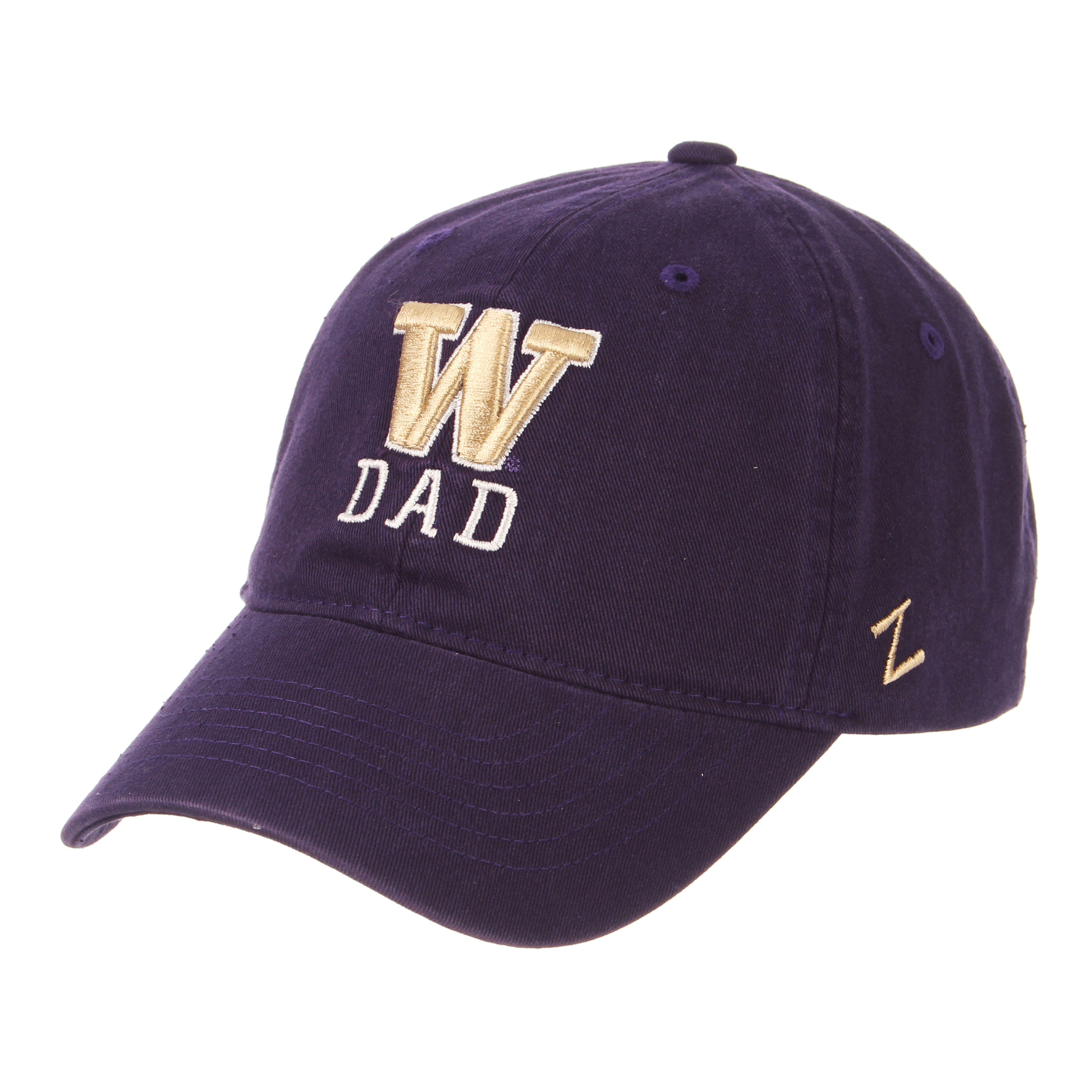 adf3e2c35f2ad Zephyr Purple Men s W Dad Scholarship Buckle Hat