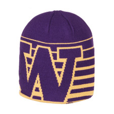 Zephyr Men's Purple W Strata 2 Beanie