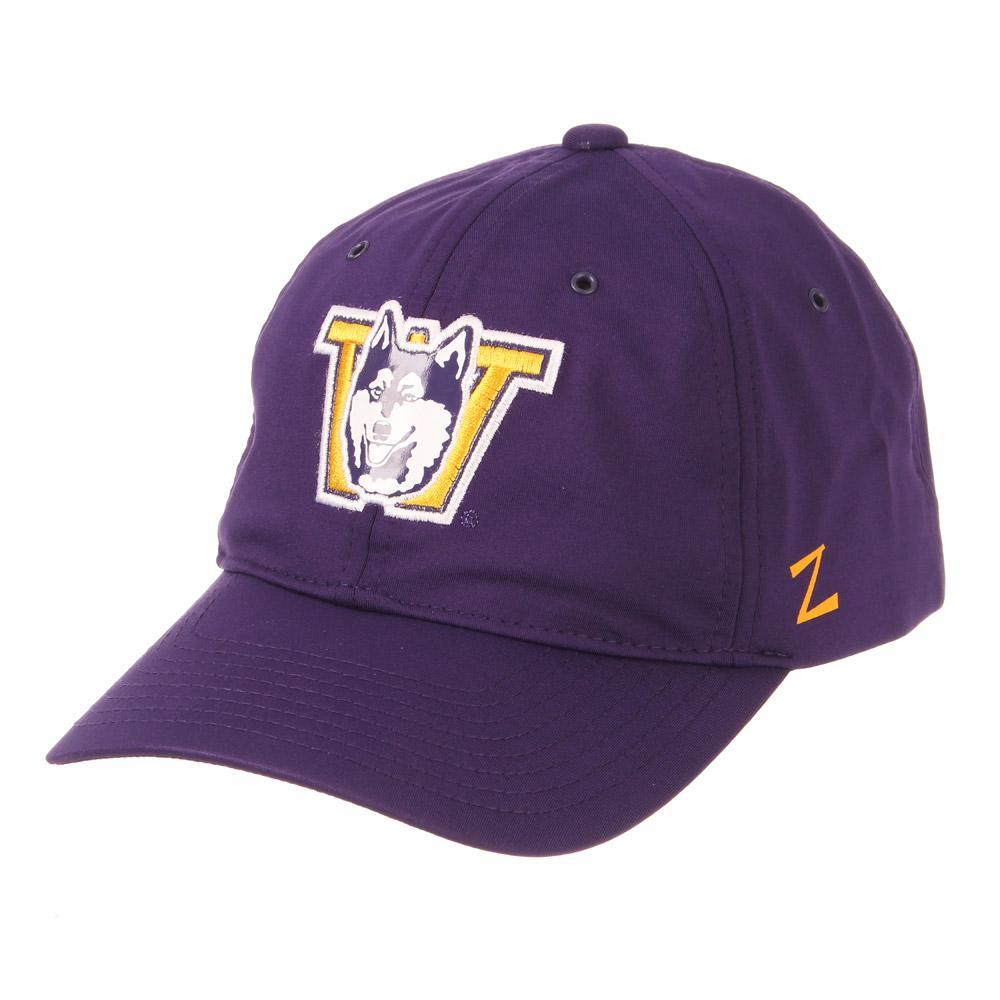 cfb0bc3c0f8c3 Zephyr Purple Vault Dog W Breezeway Velcro Strap Hat