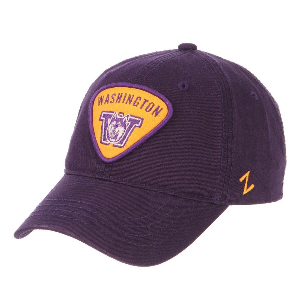 huge discount 39b19 659c6 Zephyr Purple Washington Strummer Felt Patch Buckle Hat