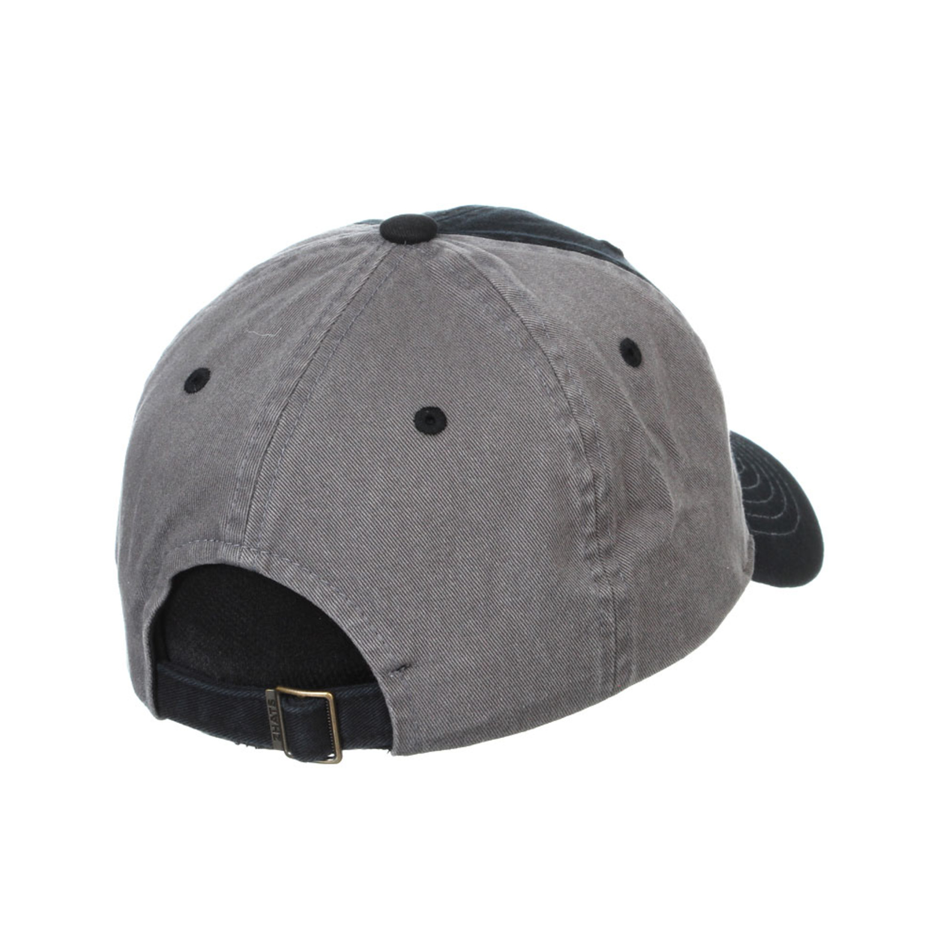 Zephyr Unisex Black W Origin Adjustable Hat – Back
