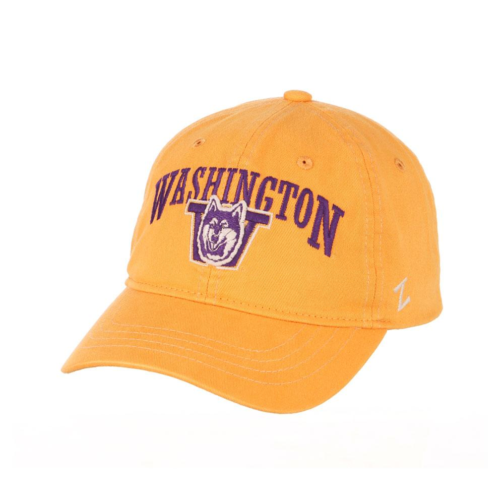 Zephyr Unisex Gold Washington Vault Dog W Adjustable Hat – Front